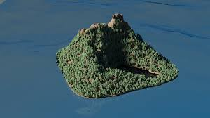 tutorial blender terrain island another thing done in a few hours ant landscape ocean