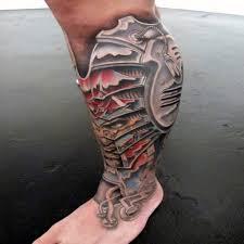 10 leg sleeve tattoo ideas for men