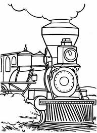 Steam Locomotive Coloring Pages Steam Train Begin To Walk Coloring Page Netart by Steam Locomotive Coloring Pages