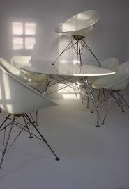 kartell glossy dining table antonio citterio and philippe starck for kartell glossy table