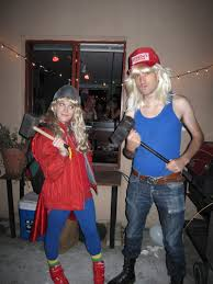thor halloween costume sara and thor from adventures in babysitting costume i always