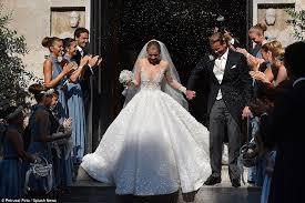 victoria swarovski u0027s wedding gown costs 1 3 million fashionisers