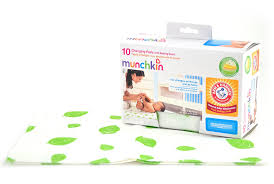 Disposable Changing Table Liners Munchkin Arm And Hammer Disposable Changing Pad 10