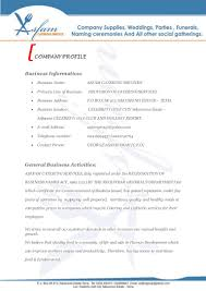 quotation format manpower supply asfam catering services business proposal