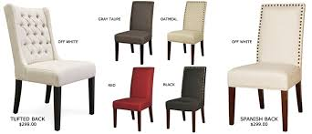 Dining Chair Upholstery Red Tufted Dining Chair Insurserviceonline Com