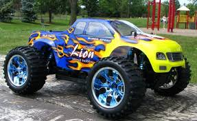 rc monster truck brushless electric 1 10 pro lipo 2 4g 88004 blue