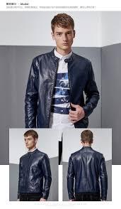 youth motorcycle jacket aliexpress com buy fall men u0027s leather jacket slim korean men u0027s