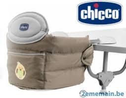siège de table pour bébé siege de table pour bébé easy lunch chicco jaune a vendre