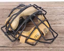 vintage rawlings baseball catchers mask umpires mask baseball