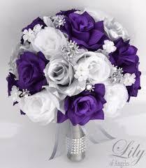 silk wedding flower packages 17 package bridal bouquet wedding bouquets silk flowers