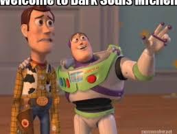 Michelle Meme - meme maker welcome to dark souls michelle
