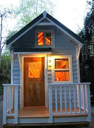 Craftsman Cabin A 200 Square Feet Tiny House On Wheels In San Diego California