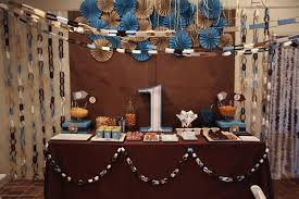 kara s party ideas blue brown boys birthday party planning ideas