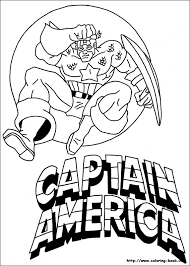 Captain America Printable Coloring Pages Mobile Coloring Captain Captain America Coloring Page