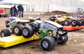 rc monster truck grave digger monster trucks hit the dirt rc truck stop