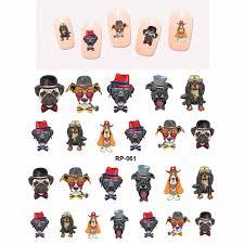 online get cheap cartoon nail stickers aliexpress com alibaba group