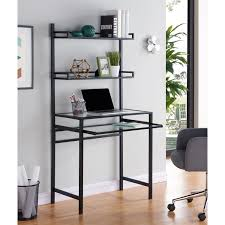 Metal Computer Desk With Hutch by Desks Home Office Shop