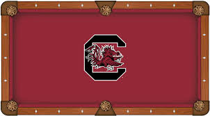 south carolina gamecocks pool table felt worsted billiard cloth