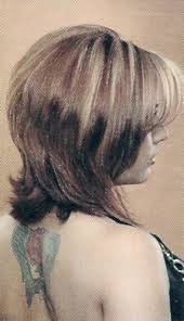 hair with shag back view 19 best hair and beauty images on pinterest make up beauty
