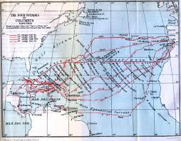 Map Of Christopher Columbus Voyage To America by Assigment 13