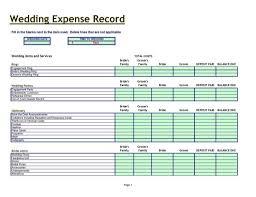 Best Wedding Budget Spreadsheet by Spreadsheet Laobingkaisuo Com