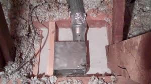 A New Bath Exhaust With No Insulation The Home Energy Detective