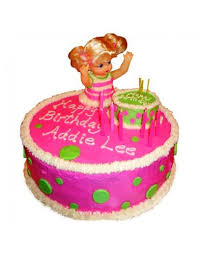 send pink doll birthday cake 1 5 kg in india order online party