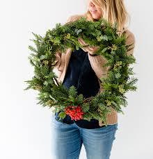 fresh wreaths diy simple wreath fresh exchange