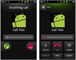 call android shakecall answer calls with a shake