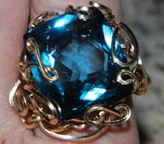 blue gemstones rings images Commissioned ring w blue gem by dpbjewelry jpg