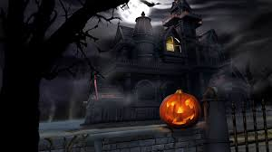 full hd wallpaper halloween scary room jack o u0027 lantern pumpkin