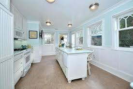 kitchen wainscoting ideas wainscoting kitchen cottage kitchen with wainscoting concrete floors