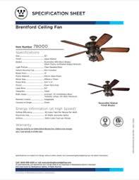 brentford 52 inch reversible five blade indoor outdoor ceiling fan download westinghouse brentford 52 inch reversible five blade indoor