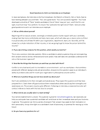 good interview questions to ask security guards companies