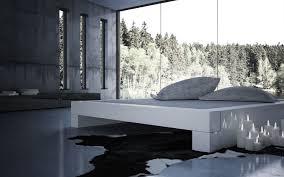 180x200 bett bett somnium minimalistisches design bett von rechteck