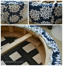 Upholstering An Ottoman To Reupholster An Ottoman