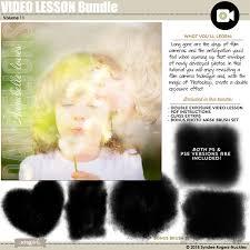 tutorial double exposure video video lesson bundle vol 11