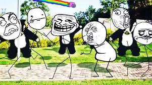 Lol Meme Gif - lol funny gifs dance troll face ihateyou yetiloveyou