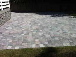 Backyard Pavers Cost by Old Town Pattern Backyard Paver Patio With Walking Path