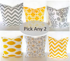 Yellow Decorative Pillows North Star