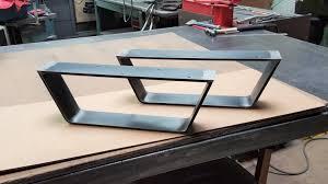 Steel Coffee Table Coffee Table Metal Legs Model Fcb05 Industrial Legs 2 5 Flat