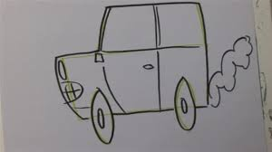 how to draw lightning mcqueen step by step disney characters