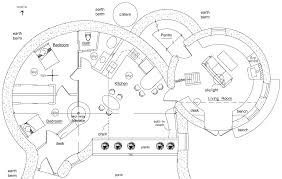 construction house plans organic free form earthbag house plans