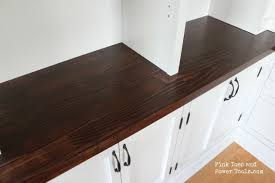 Making A Wooden Desktop by Dining Room Home Office How To Make A Desktop Or Countertop