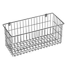 Home Decor Baskets Ltl Home Products More Inside Large 4 Sided Wall Mount Wire Basket