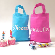 personalised party bags by beryl betty celebrations
