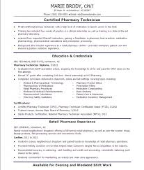 Entry Level Resume Sample No Work Experience by Pharmacy Technician Resume Sample No Experience U2013 Resume Examples