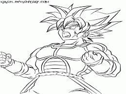 dragon ball z characters coloring pages super saiyan coloring home