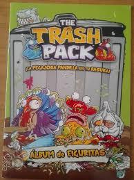 album figuritas trash pack en excelente estado llenado