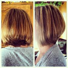 hair styles for back of simple natural look the layered bob haircut for thick hair